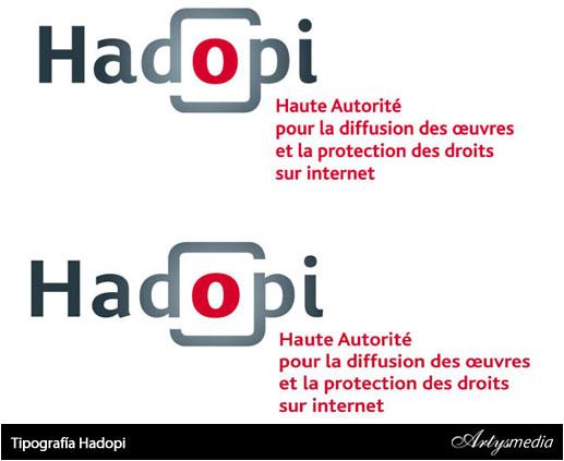 Tipografía Hadopi