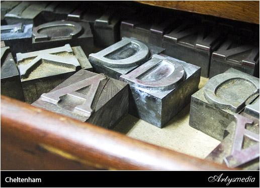 Ilustración y tipografía - Resumen 1ª Semana de Febrero 2010 - Cheltenham