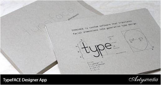 TypeFACE Designer App