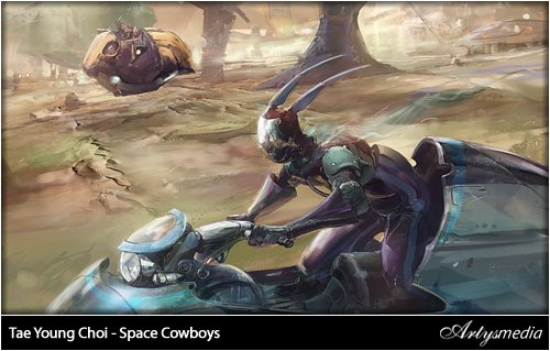 Tae Young Choi - Reborn- Space Cowboys