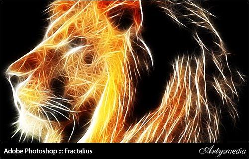 Adobe Photoshop ::: Fractalius