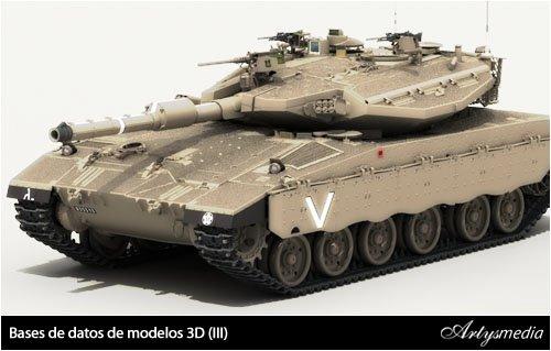 Bases de datos de modelos 3D (III)