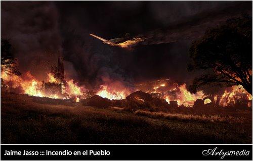 Jaime Jasso ::: Incendio en el Pueblo
