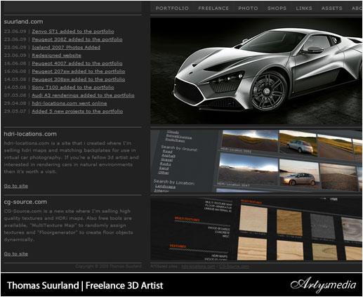 Thomas Suurland | Freelance 3D Artist
