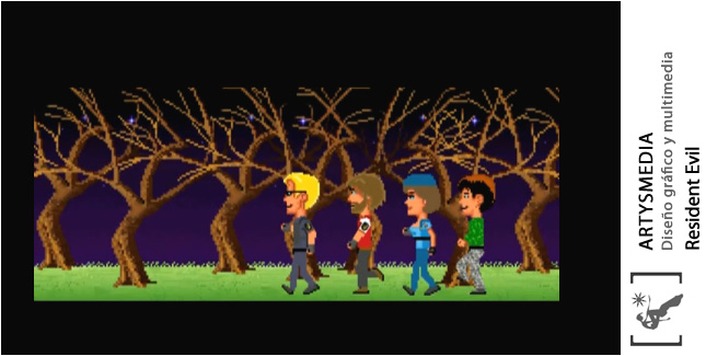 Resident Evil the Maniac Mansion incident
