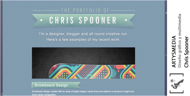 Create a Stylish Portfolio Site Design in Photoshop
