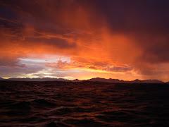 Vinter soluppgång