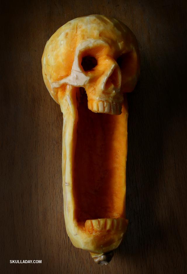Butternut Skull