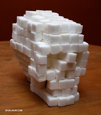 skull sugar cubes how to make