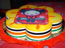 Colorida gelatina