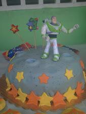 Deliciosa torta espacial