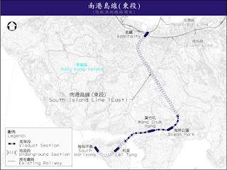 南港島線東段定線(圖片來源:路政署)