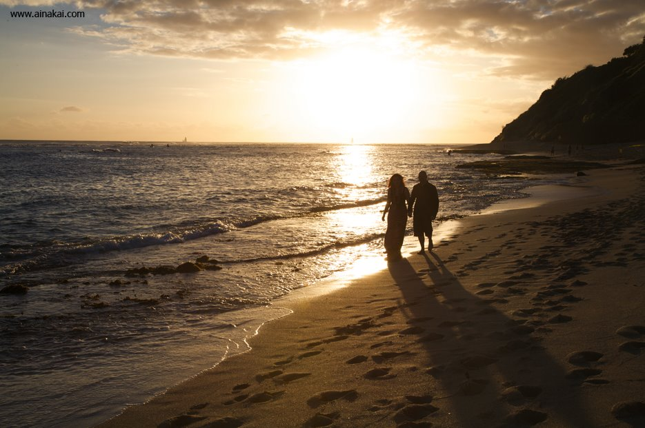 Diamond Head Beach: Honeymoon