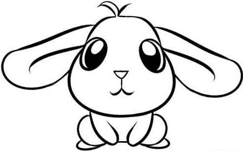 Simple Drawings Bunny Rabbits