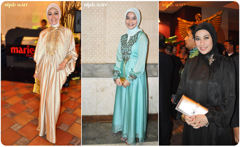 Style Spotted : Abaya - Hijab Scarf
