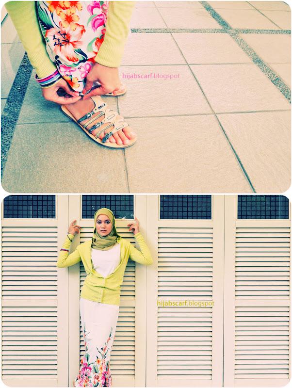Style Spotted : Nurul Adiyanti - Hijab Scarf