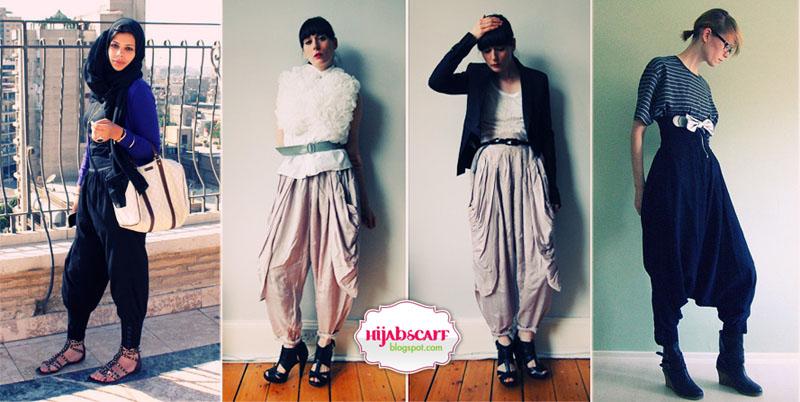 Harem Pants - Hijab Scarf