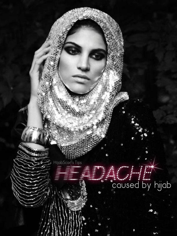 Headache and Hijab - Hijab Scarf