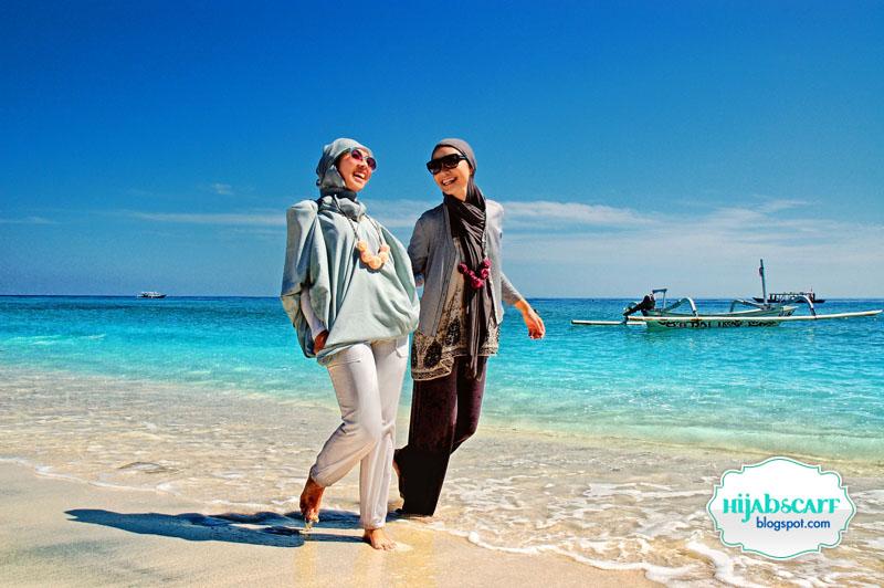 Weekend Getaway Gili Trawangan (Part I) - Hijab Scarf
