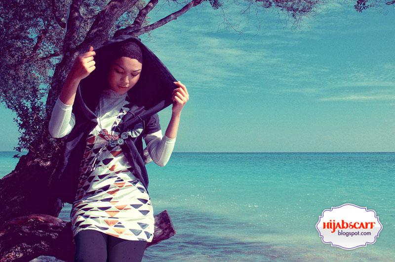 Beaches To Peaches (Part II) - Hijab Scarf