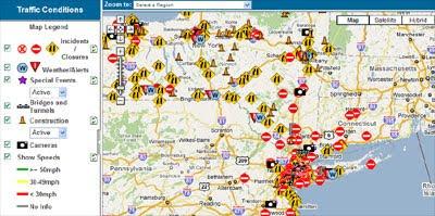 maps mania new york traffic on google maps