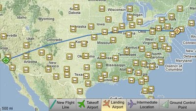 Maps Mania: Another Google Maps Flight Planning Tool on