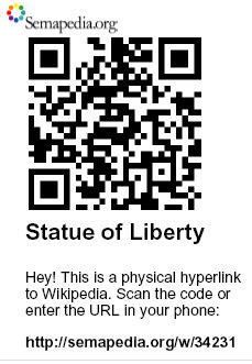 QR Code for the Statue of Liberty
