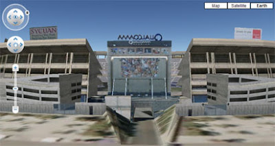 screen shot of nfl map