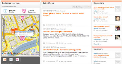 yourstreet screen shot