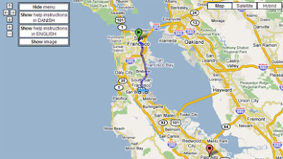 cartrip map