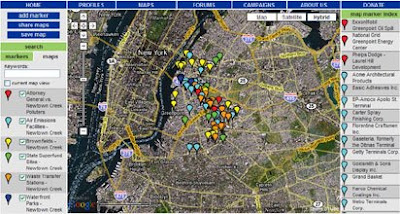 habitatmap screen shot