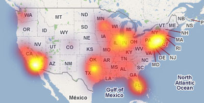 using google maps to produce heat maps