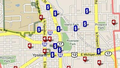 Maps Mania Campus Crime Google Map