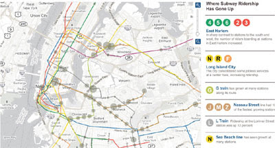 Maps Mania Subway Traffic On Google Maps