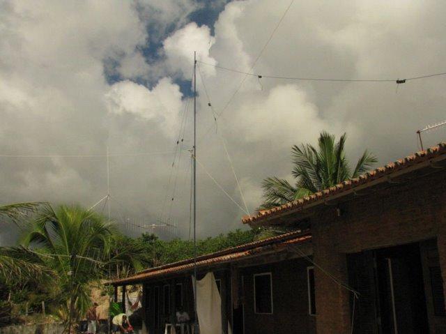 Antenas Multi Banda : 10, 12, 15, 17, 20, 40, 80 e Delta Loop 40m
