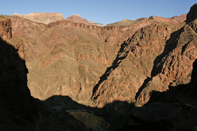 Canyon Walls and Colorado River