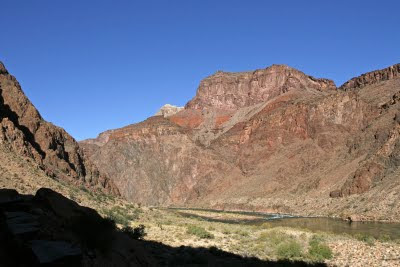 Colorado River from Canyon Floor