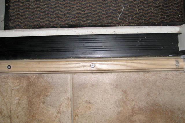 Hanging exterior door