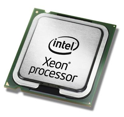Un procesador de marca Intel