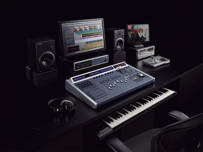 Fotografía de este conjunto de dispositivos para el manejo de audio
