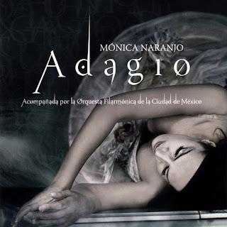 Mónica Naranjo, Adagio. Ficha del disco y album art de Mónica Naranjo, Adagio: canciones, carátula, portada, detalles e información