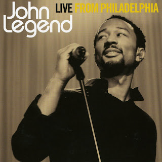 John Legend Live From Philadelphia caratulas portada tapa cd art album ipod
