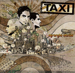 Taxi caratulas mirando atras portada discografia
