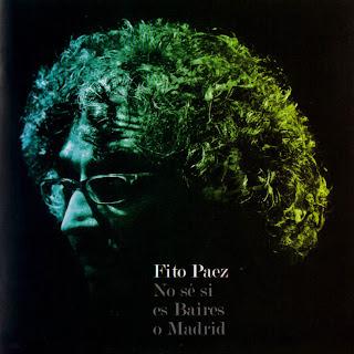 Fito Paez No Se Si Es Baires o Madrid caratulas del nuevo disco, portada, arte de tapa, cd covers