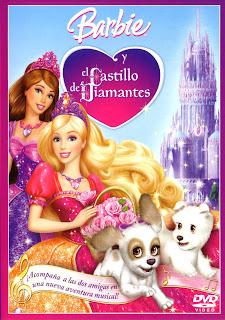 Barbie y el Castillo de Diamantes caratulas pelicula, portada, arte de tapa, dvd covers