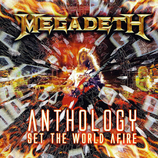 Megadeth Anthology: Set The World Afire caratulas del nuevo disco, portada, arte de tapa, cd covers, videoclips, letras de canciones, fotos, biografia, discografia, comentarios, enlaces, melodías para movil