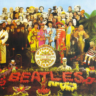 The Beatles caratula Sgt. Pepper's Lonely Hearts Club Band cd cover, sleeve, portada, arte de disco, tapa, pochette, hoesje, copertine, videoclips, letras de canciones, fotos, biografia, discografia, comentarios, enlaces, melodías para movil