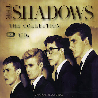 The Shadows The Collection CD Cover caratulas, portada recopilatorio