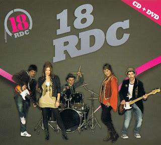 18 RDC Ritmo de la calle caratulas, portada, tapa, frontal, trasera