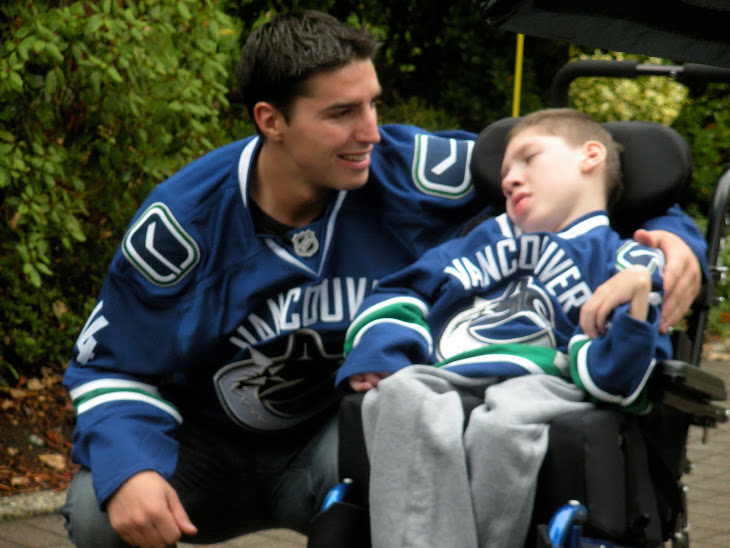 Matt with Alex Burrows